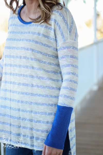 Royal-Blue-And-White-Striped-Sweater (2 of 5)