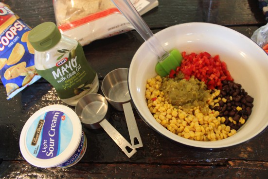 easy mexican corn dip
