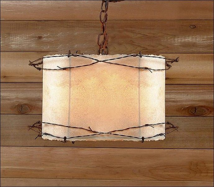 Texas Star Pendant Light