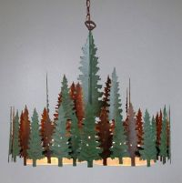 Avalanche Ranch Lighting Sheridan Round Chandelier Series ...