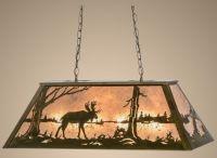 Meyda Moose Country Island/Pool Table Light - Rustic ...