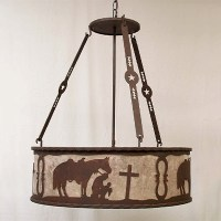 Copper Canyon PEG270 Western Chandelier - Rustic Lighting ...