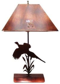 The Trendsetters Rustic Bedside Lamp - Rustic Lighting & Fans