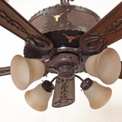 Kitchen Fan Cover Home Depot Unfinished Cabinets Copper Canyon Laramie Ceiling - Rustic Lighting & Fans