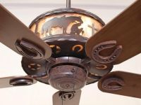 Copper Canyon Old Forge Ceiling Fan- Rustic Lighting and Fans