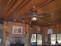 Forest Breeze Ceiling Hugger Fan | Rustic Lighting and Fans