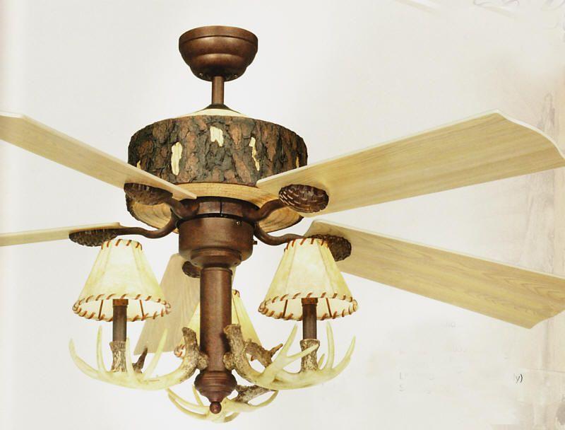 Log Cabin Ceiling Fan