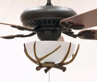 Sandia Rustic Ceiling Fan | Rustic Lighting and Fans