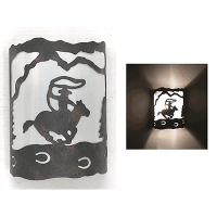 Copper Canyon M126 Track Series Western Wall Sconce