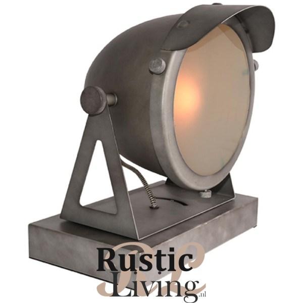Tafellamp Cap Burned steel
