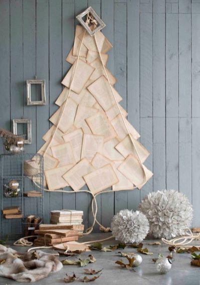 kerstbom papier