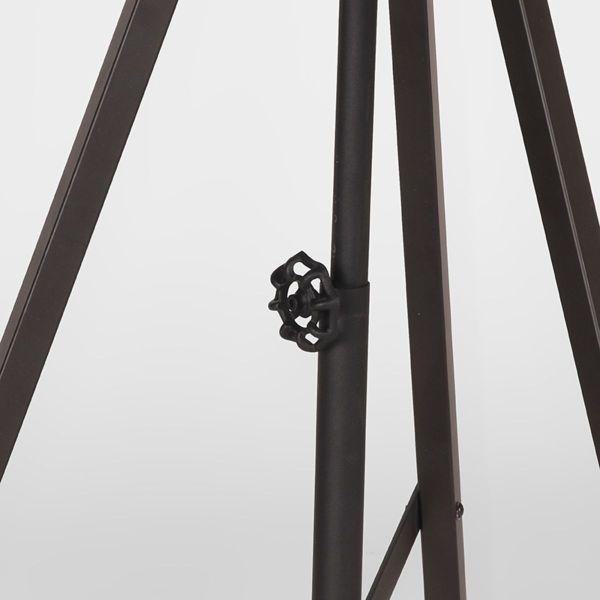 vloerlamp twine metaal zwart label 51