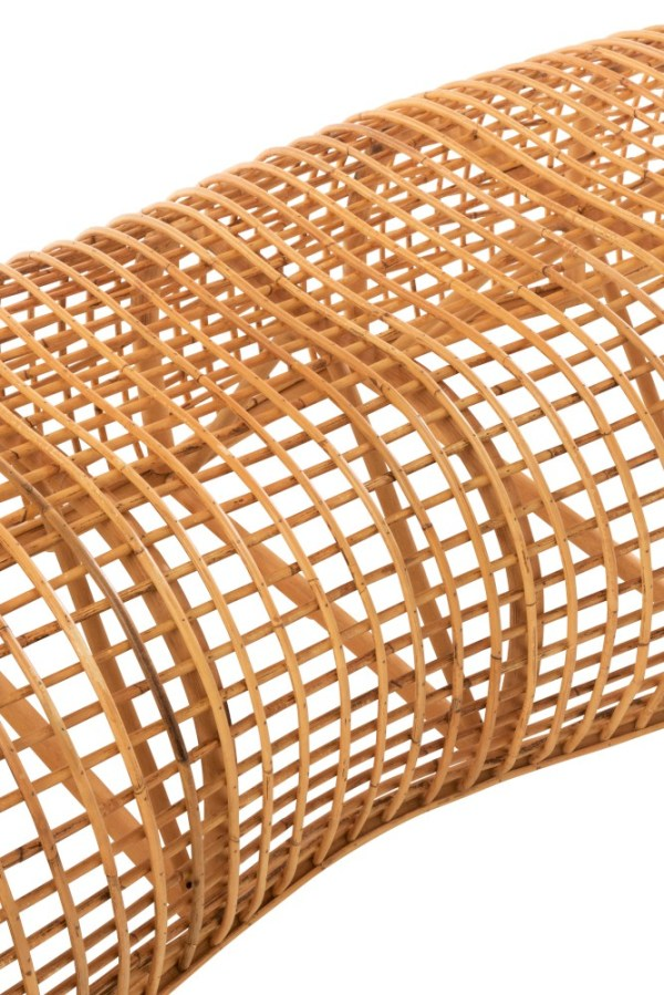 Bank roni bamboe naturel visnet