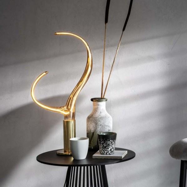 Ypsilon Gold led lamp 6W 230lm 2100K Dimbaar