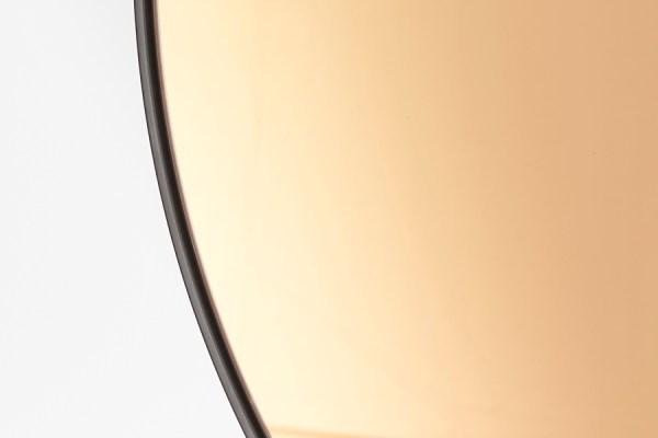 Spiegel Ø96 cm ESPEJO bruin glas