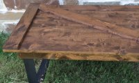 Barn Door Coffee Table | Custom Furniture near Plano