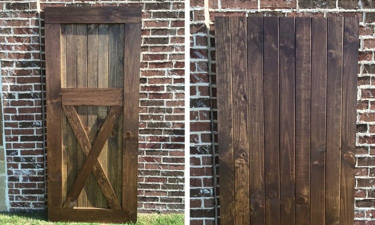 Custom Barn Doors Lucas Hardwood Furniture