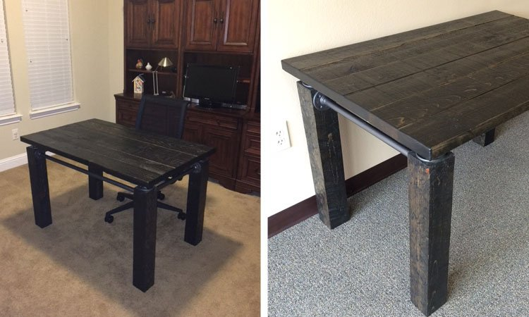 Industrial Farmhouse Desk