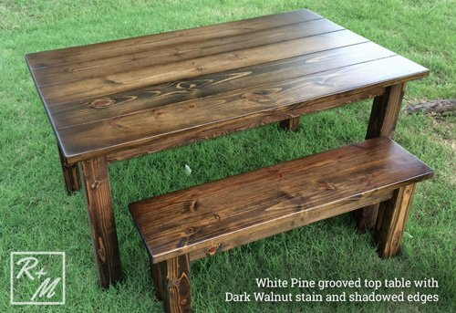 Guide To Furniture Wood Types Rustic Dining Tables Mckinney