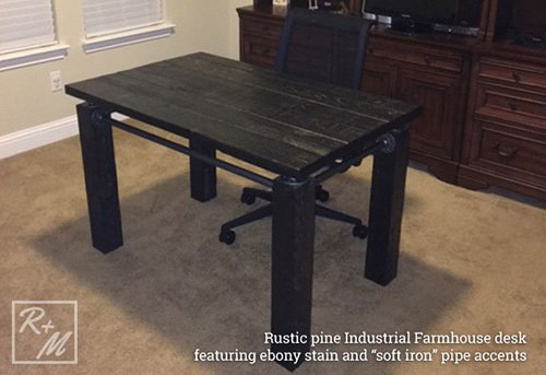 Solid Wood Furniture in Modern Design Custom Tables Plano