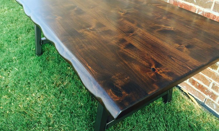 Authentic Reclaimed Wood And Live Edge Tables For Interior Design Rustic Modern Handcrafted Furniture - Best Wood To Make A Live Edge Table