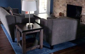 Coffee Table and Side Table | Handmade Wood Table Dallas