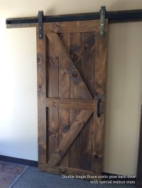 Single Barn Doors & Hardware - Rustic + Modern Handcrafted ...