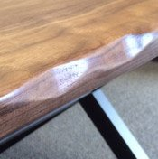 Hand Carved Live Edge (+$150)