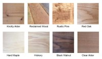 Hardwood Types For Furniture Types Of Wood For Woodworking ...