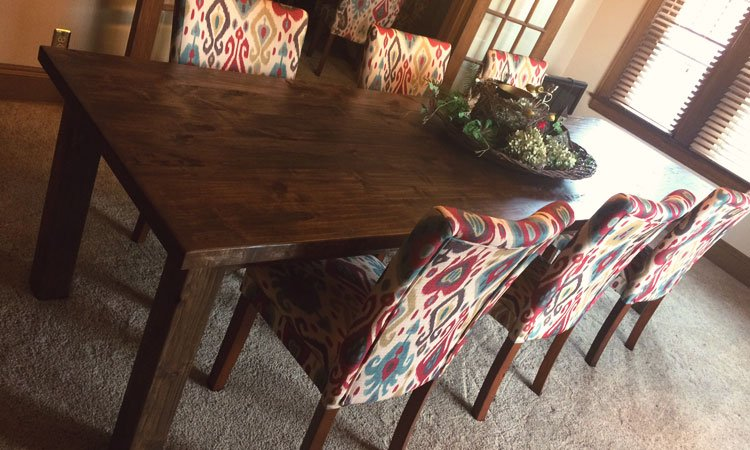 Classic Farmhouse Table | Rustic Furniture McKinney