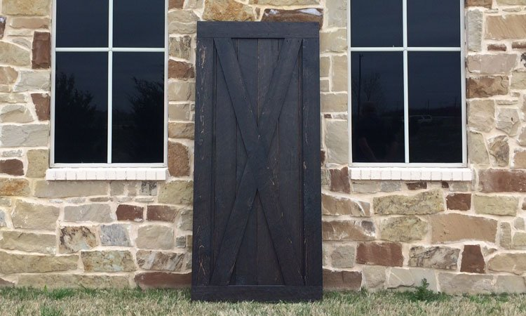 Full X Brace Barn Door