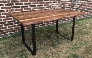 Hand Carved Live Edge Table | Modern Style Tables Near Me