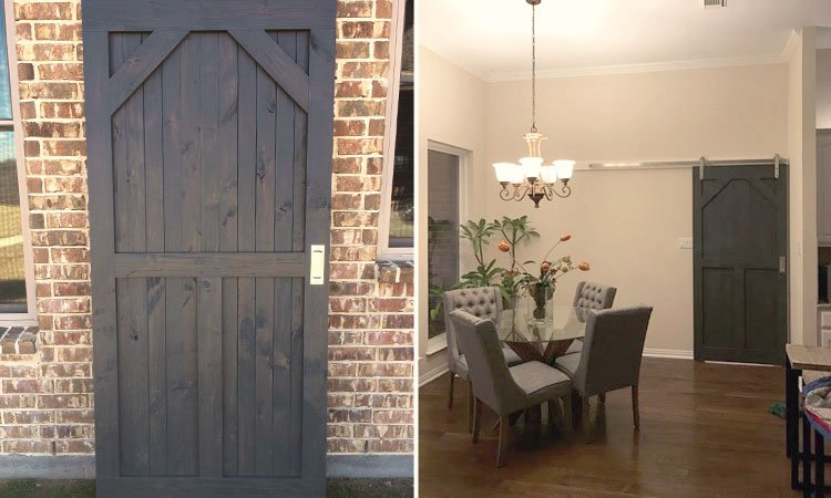 Custom Designed Barn Door | Hardwood Barn Doors Southlake