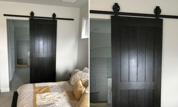 Artisan Made Center Brace Barn Door | Custom Barn Doors Arlington, Tx