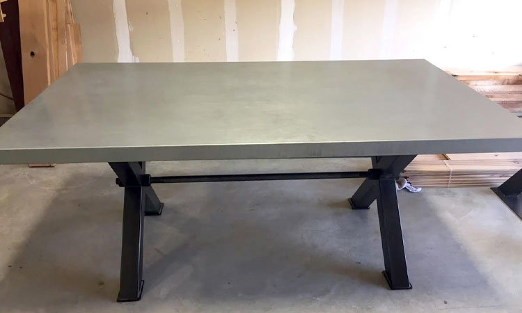Designer Steel Dining Table | Industrial Style Tables Prosper Tx