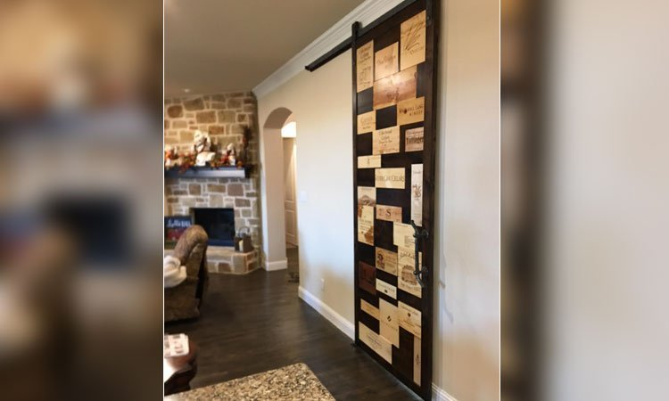 Custom Barn Door Handmade Locally | Interior Barn Door Prosper