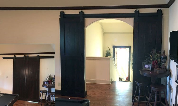 Double Interior Barn Doors | Sliding Barn Doors Frisco, Tx