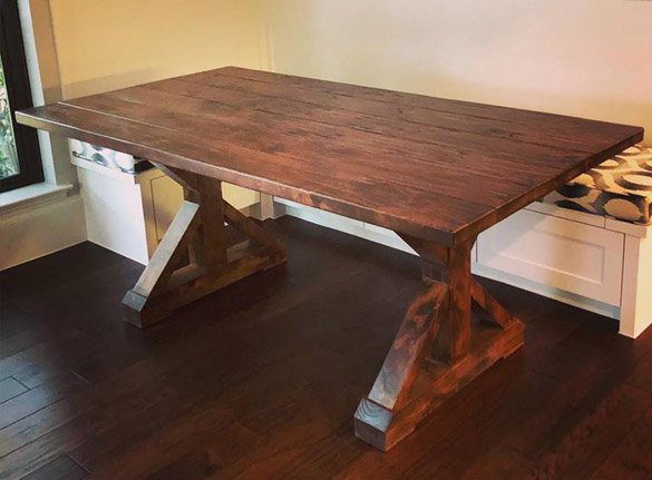 Awesome Solid Wood Furniture Custom Made In Texas Rustic Modern Interior Design Ideas Gentotthenellocom