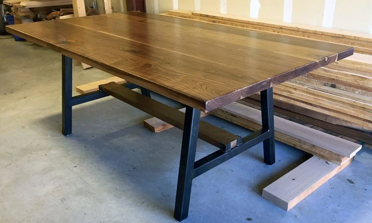 Handbuilt Black Walnut Dining Table | Custom Dining Tables Celina, Tx