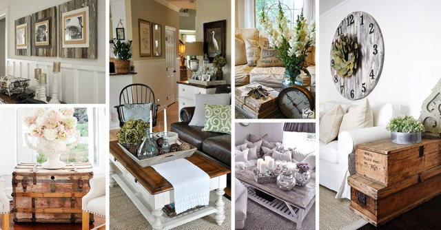40+ Best Rustic Chic Living Room Ideas And Designs For ...