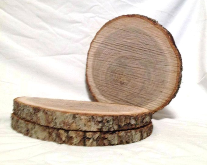 Wood Slices, Table Decor, Tree Slices, Log Slices, Wood Cookies, Rustic Wedding Centerpiece, Wood Slabs, Wood Chargers, Wood Slices Bulk