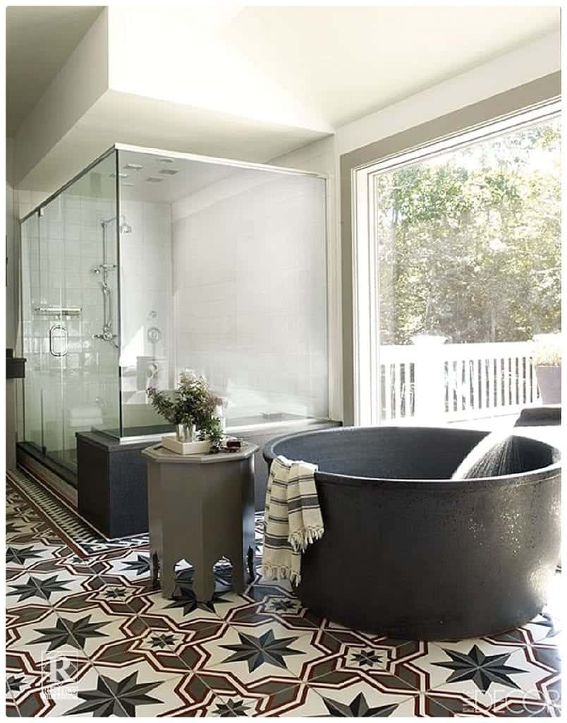 Trends for Cement Tile Bathrooms  Rustico Tile  Stone