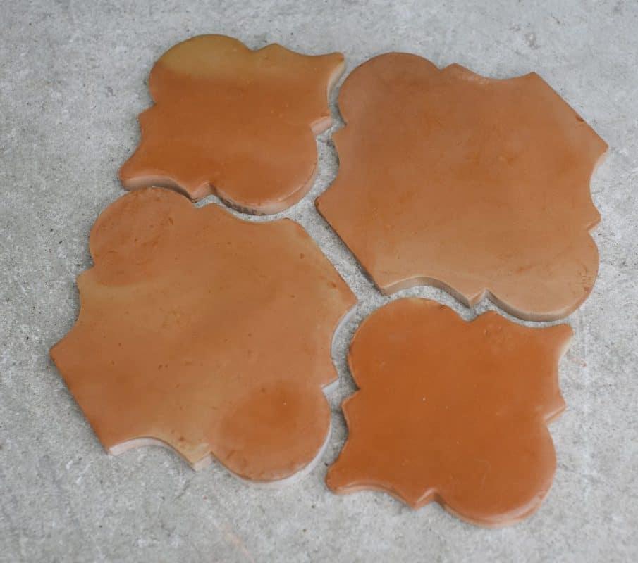 handmade mexican saltillo tile riviera terracotta floor clay tile