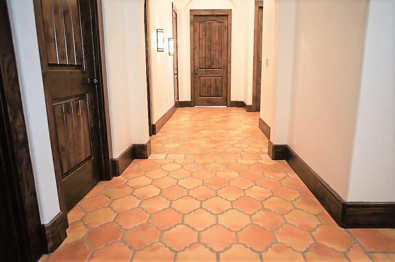 saltillo mexican arabesque tile spanish terracotta flooring mexican paver