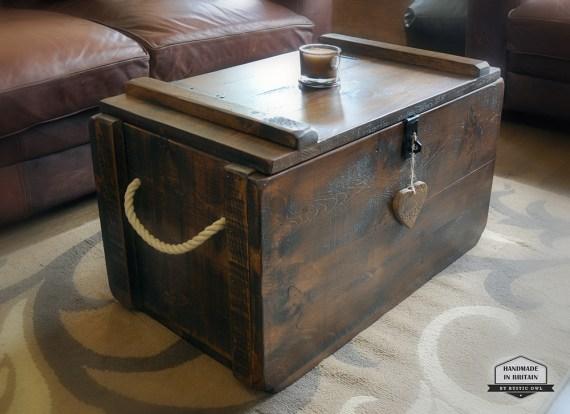 tudor oak chest