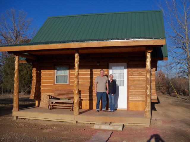 Cabins in Construction  Rustic Ozark Log Cabins