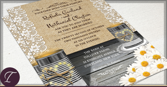 Rustic Tin Can Wedding by I