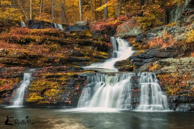 Factory Falls autumn Poconos