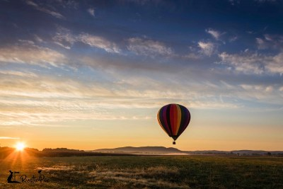 Hot Air Balloon sunrise