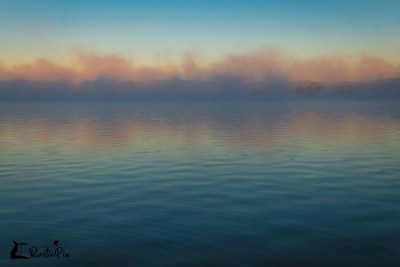 Silver Lake NY sunrise fog